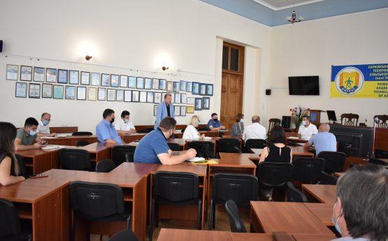 Відбулось засідання Приймальної комісії ХНТУСГ