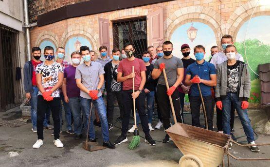 Всесвітній День прибирання у ННІ ЕКТ