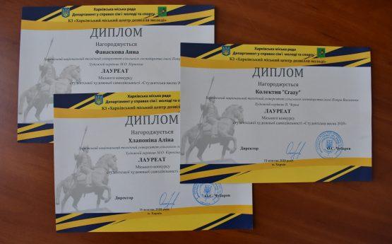 """Підсумки конкурсу """"Студентська весна 2020"""""""