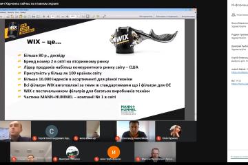 Результати інтерактивного вебінару WIX FILTERS MANN+HUMMEL