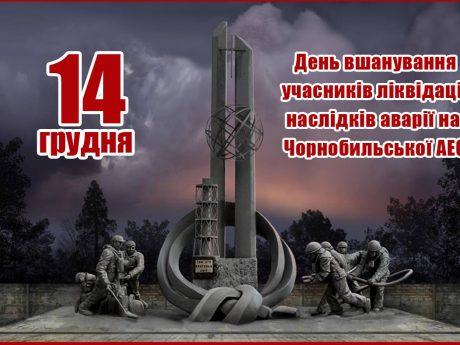 Пам'ятаймо про подвиг чорнобильців!