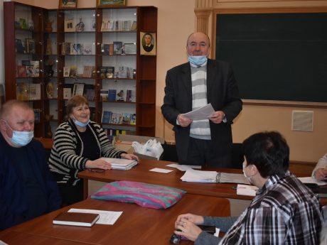 Засідання профспілкового комітету ХНТУСГ