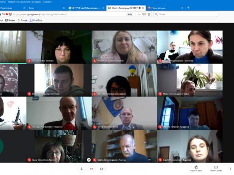 Засідання вченої ради ННІ ЕКТ