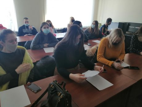 Practical training of students continues