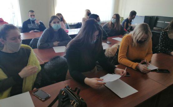 Триває практична підготовка студентів