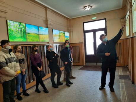 In practice at the Institute of Plant Breeding named after V. Yuriev
