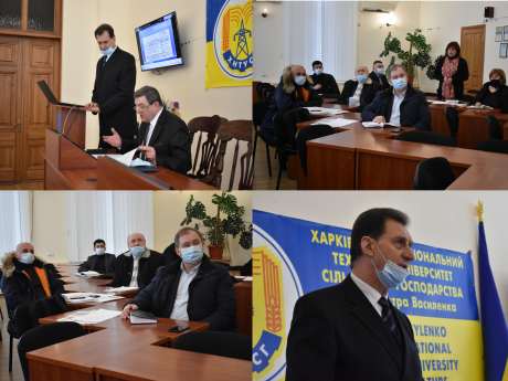 On February 22, 2021, a regular meeting of the Rector's Office took place