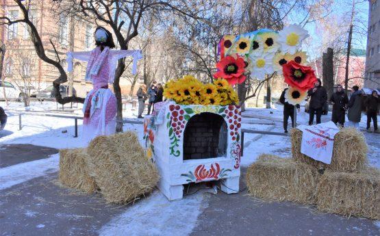 Студенти святкували Масницю