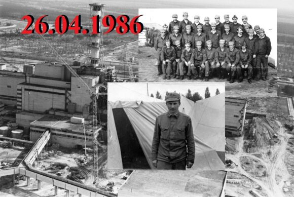 KIEV REGION, USSR. August 1, 1986. Chernobyl Nuclear Power Pllant. The construction site of a protective wall at the 4th unit. Valery Zufarov, Vladimir Repik/TASS  ÑÑÑÐ. Êèåâñêàÿ îáëàñòü. 1 àâãóñòà 1986 ã. ×åðíîáûëüñêàÿ ÀÝÑ. Âîçâåäåíèå çàùèòíîé ñòåíêè íà 4-ì ýíåðãîáëîêå. Çóôàðîâ Âàëåðèé, Ðåïèê Âëàäèìèð/Ôîòîõðîíèêà ÒÀÑÑ