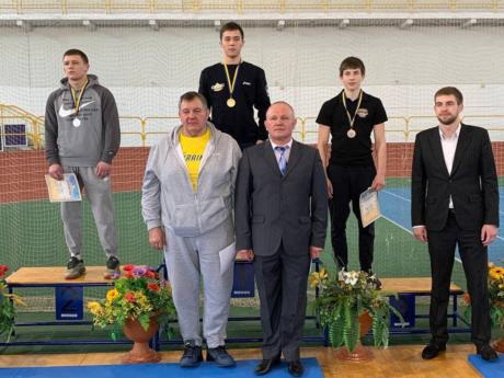 Чемпіон України з греко-римської боротьби