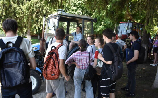 Практика студентів у навчально-дослідному господарстві 29.06.2021