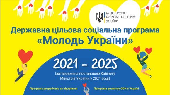 Уряд затвердив Державну програму «Молодь України»
