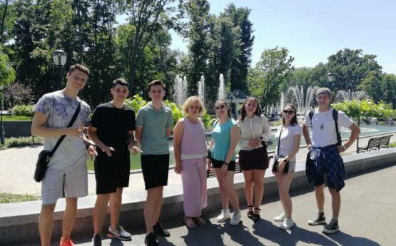 Навчальна практика студентів 2 курсу ННІ БМП спеціальності 242 Туризм