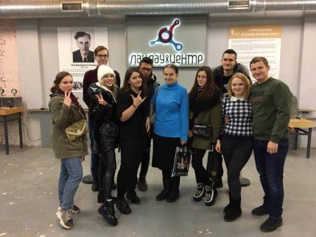 Екскурсія студентів ННІ ЕКТ до Ландауцентру